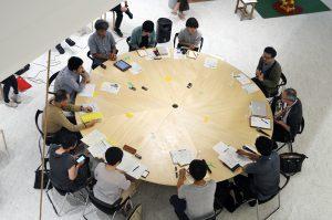 ゲストに石倉敏明氏(人類学者・神話学者)を迎えた「前橋聖務日課」第1回フォーラム(2016年7月23日15:00~18:00)