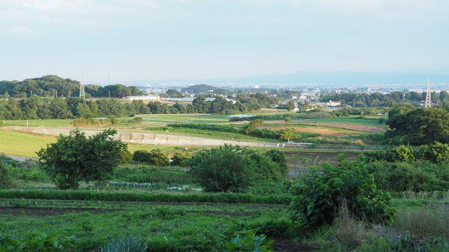 あかつきの村からの眺め 画像提供:Port B