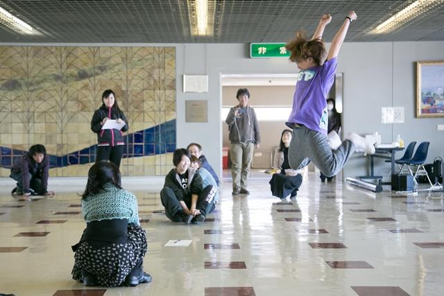 ダンスで時計 ワークショップ第1回 時を告げるダンスをつくろう!2013.1.19