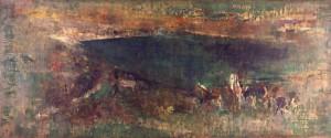 1.山口薫《沼のある牧場》1964年