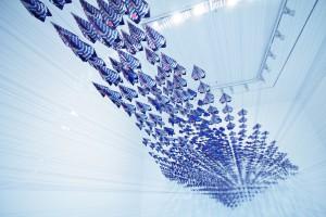 参考写真《Operation  A》2012年/和紙にデジタルプリント、他/撮影:高橋洋介