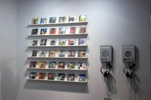 【6】CDs, installation view at 101Tokyo, 2009