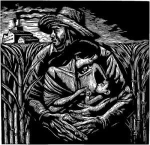 ⑧レオニーリョ・オルテガ・ドロリコン「農園のなかで」福岡アジア美術館所蔵